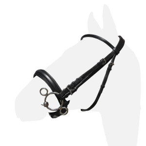 Оголовье выездковое Премиум купить в интернет магазине конной амуниции
