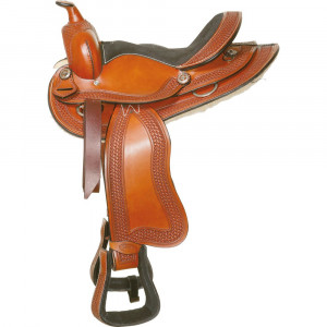 Седло Western'Runty',L-pro West купить в интернет магазине конной амуниции